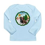 Take Off1/2 Labs(cho/blk) Long Sleeve Infant T-Shi