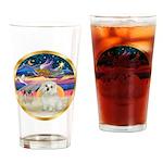 XmasStar/ Maltese # 11 Drinking Glass