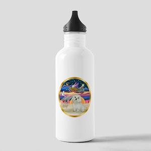 XmasStar/ Maltese # 11 Stainless Water Bottle 1.0L