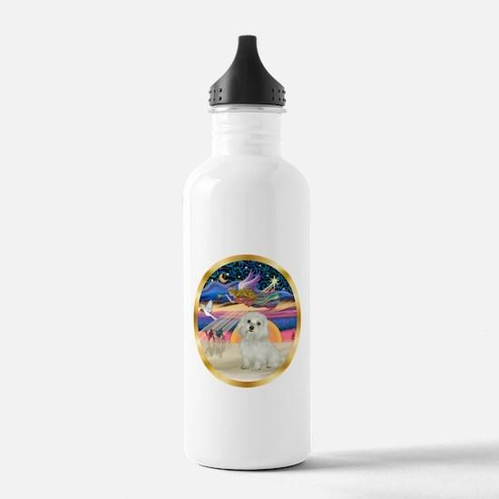 XmasStar/ Maltese # 11 Water Bottle