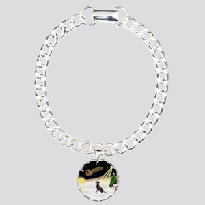 Night Flight/Manchester Charm Bracelet, One Charm