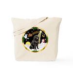 Night Flight/Newfie #2 Tote Bag