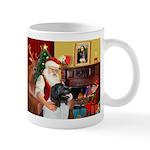 Santa's Newfie (L) Mug