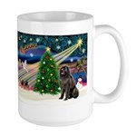 Xmas Magic/Newfie (#2) Large Mug