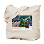 Xmas Magic/Newfie (#2) Tote Bag