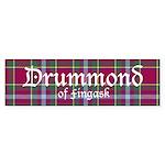 Tartan - Drummond of Fingask Sticker (Bumper 10 pk