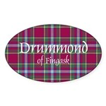 Tartan - Drummond of Fingask Sticker (Oval)