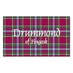 Tartan - Drummond of Fingask Sticker (Rectangle 10