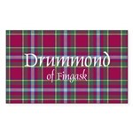 Tartan - Drummond of Fingask Sticker (Rectangle 50