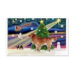 XmasStar/Nova Scotia dog 22x14 Wall Peel