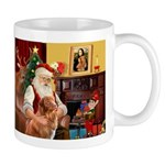 Santa/Nova Scotia Dog Mug