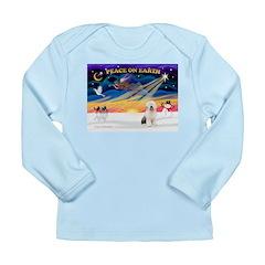 XmasSunrise/OES #3 Long Sleeve Infant T-Shirt