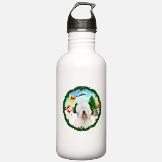 Old English Sheepdog Water Bottle