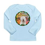 XmasMusic 3/OES #3 Long Sleeve Infant T-Shirt