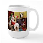 Santa's Old English #5 Large Mug