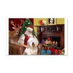 Santa's Old English #6 22x14 Wall Peel