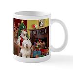 Santa's Old English #6 Mug