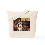 Santa's Old English #6 Tote Bag