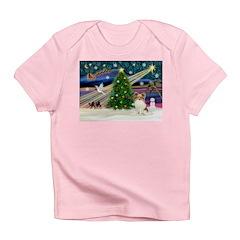 Xmas Magic Papillon (f) Infant T-Shirt