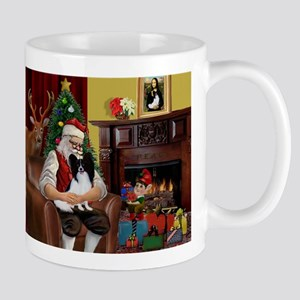 Santa's Papillon Mug
