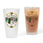 XmasMusic1MCL/Papillon Drinking Glass