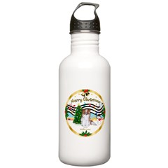 XmasMusic1MCL/Papillon Water Bottle