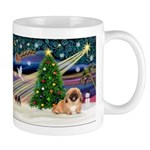 XmasMagic/Pekingese (red) Mug