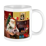 Santa's 2 Pekingese Mug