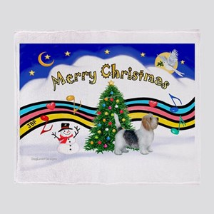 XmasMusic1/PBGV #9 Throw Blanket
