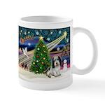 Xmas Magic/PBGV (#1) Mug