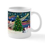 XmasMagic/Pomeranian (RW) Mug
