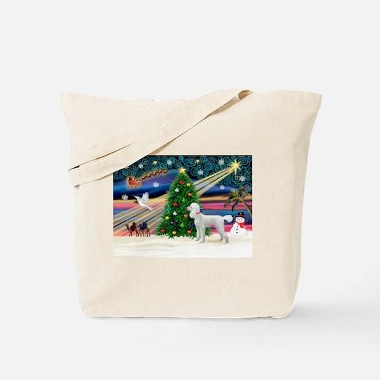 Xmas Magic & Poodle Tote Bag