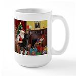 Santa's PWD Large Mug