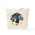 Xmas Musc 3/Cavalier Tote Bag