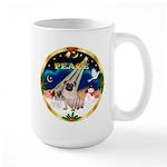 XmasSunrise/Pug Large Mug