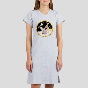 Night Flight/ Pug Women's Nightshirt