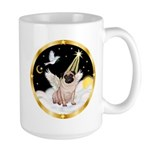 Night Flight/ Pug Large Mug