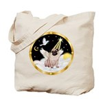 Night Flight/ Pug Tote Bag