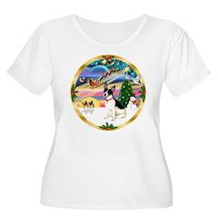 XmasMagic/Rat Terrier T-Shirt