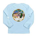 XmasMagic/Rat Terrier Long Sleeve Infant T-Shirt