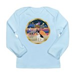 XmasStar/Rat Terrier Long Sleeve Infant T-Shirt