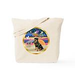 XmasStar/Rottie #3 Tote Bag