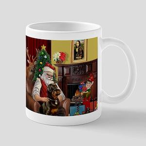 Santa's Rottweiler Mug