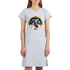 XmasSunrise/Rottweiler Women's Nightshirt