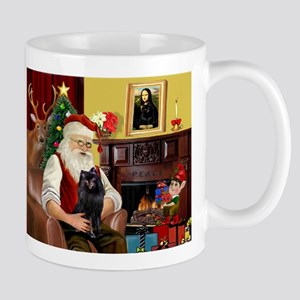 Santa's Schipperke Mug