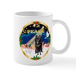 XmasSunrise/Schipperke Mug