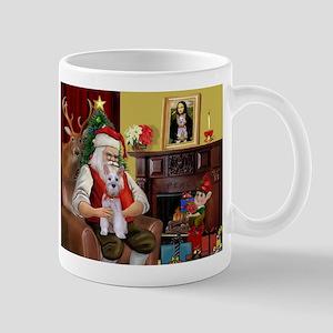Santa's Schnauzer (9) Mug