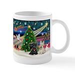 XmasMagic/2 Scotties (P3) Mug