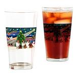 XmasMagic/3 Shelites (s) Drinking Glass