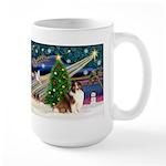 XmasMagic/Sheltie (7R) Large Mug
